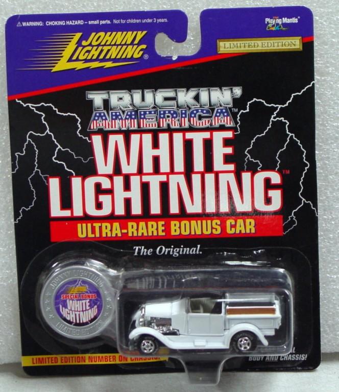 White Lightning - White Lightning Truckin Amer 1929 Model A White