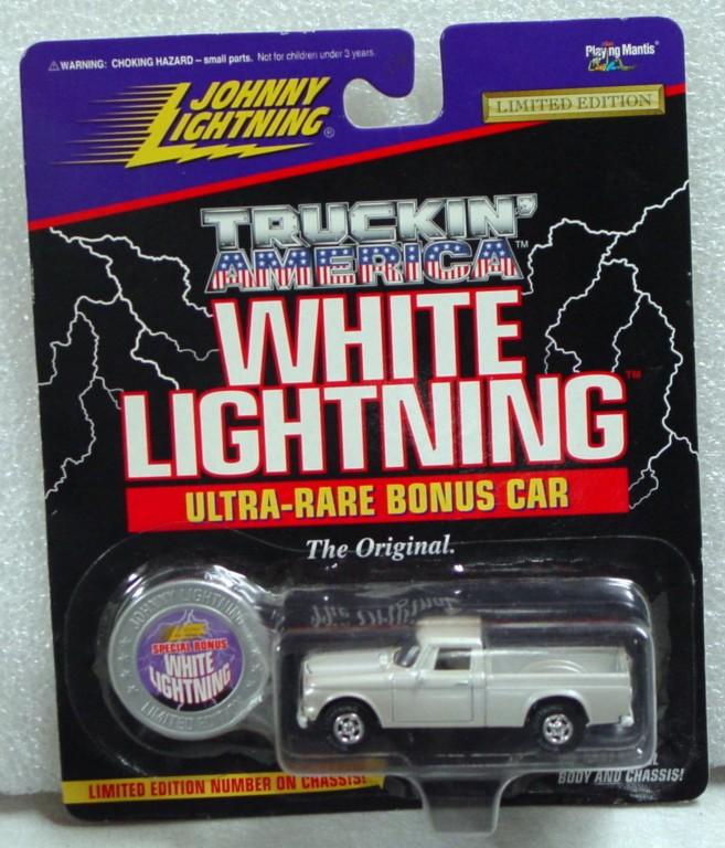 White Lightning - White Lightning Truckin Amer 1960s Stude Sil-white