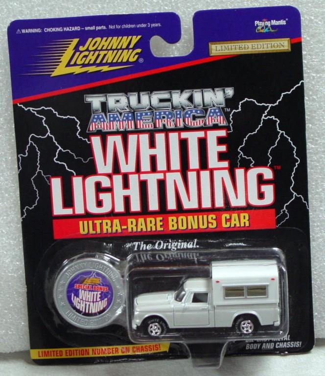 White Lightning - White Lightning Truckin Amer 1960s Stude Sil-white with camper