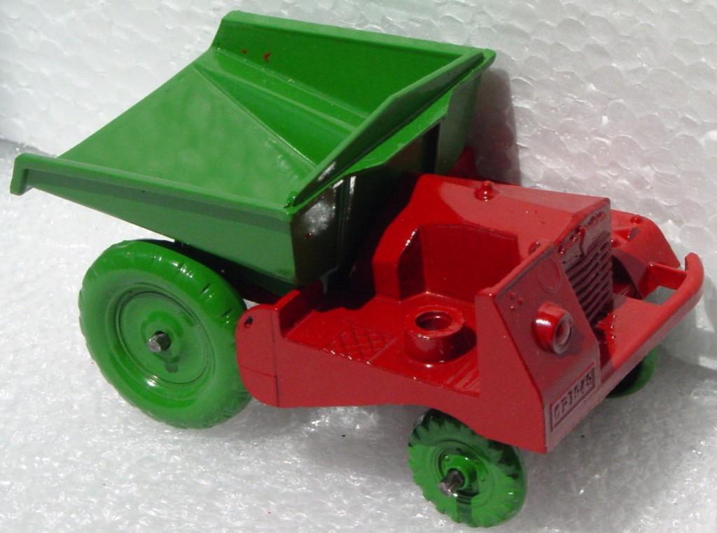 Matchbox MICA CONDON Site Dumper Red and green no driver