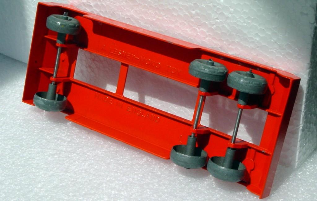 Matchbox LESNEY Prime Orange Mover/trailer -Dozer RESTORED