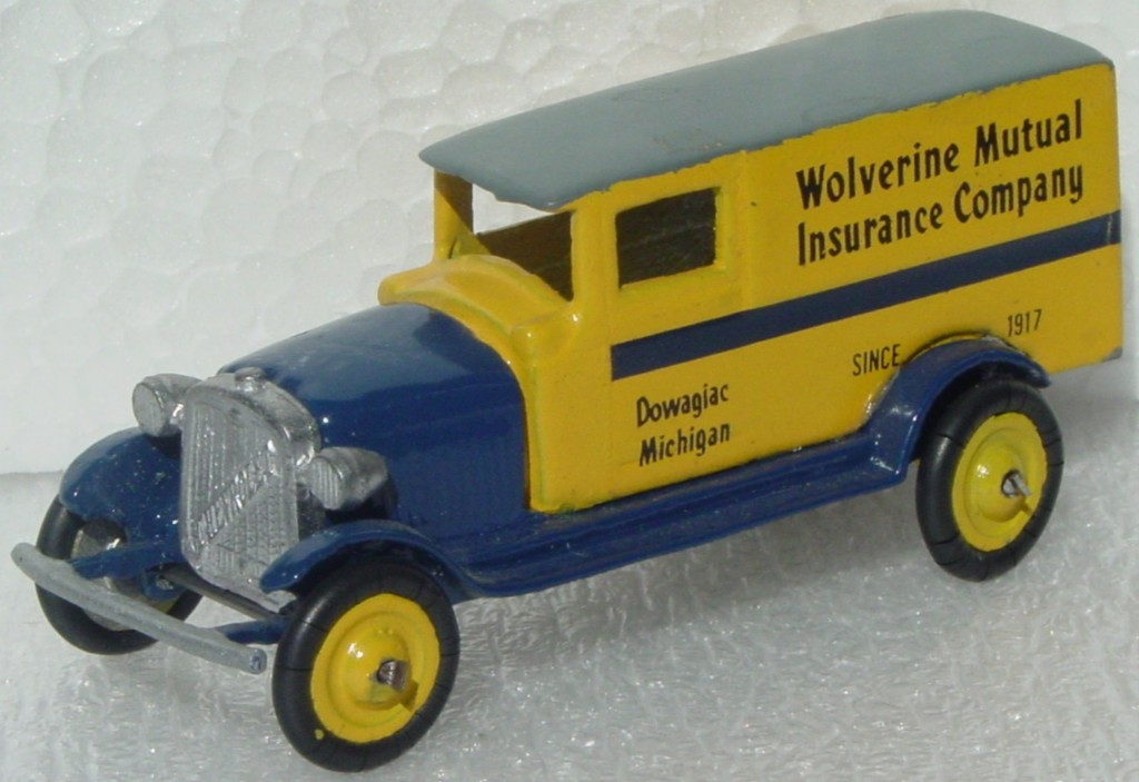 43 - TOOTSIETOY? Chevrolet Wolverine Yellow Re-make