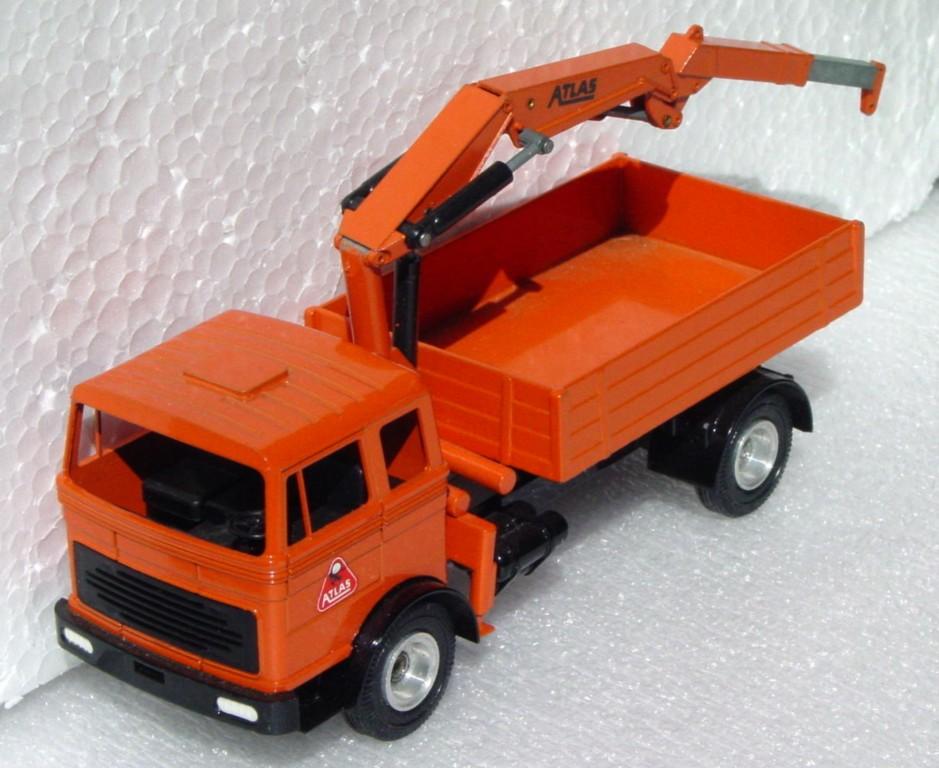 43 - GESCHA Atlas Crane truck no hook