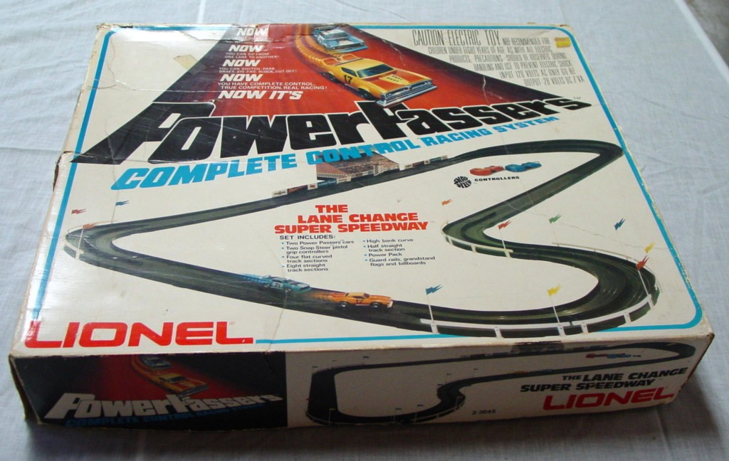 LIONEL Power Passers C8.5 box no cars