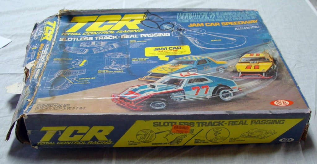 IDEAL TCR JAM CAR Speedway 3 cars slotless C7 box