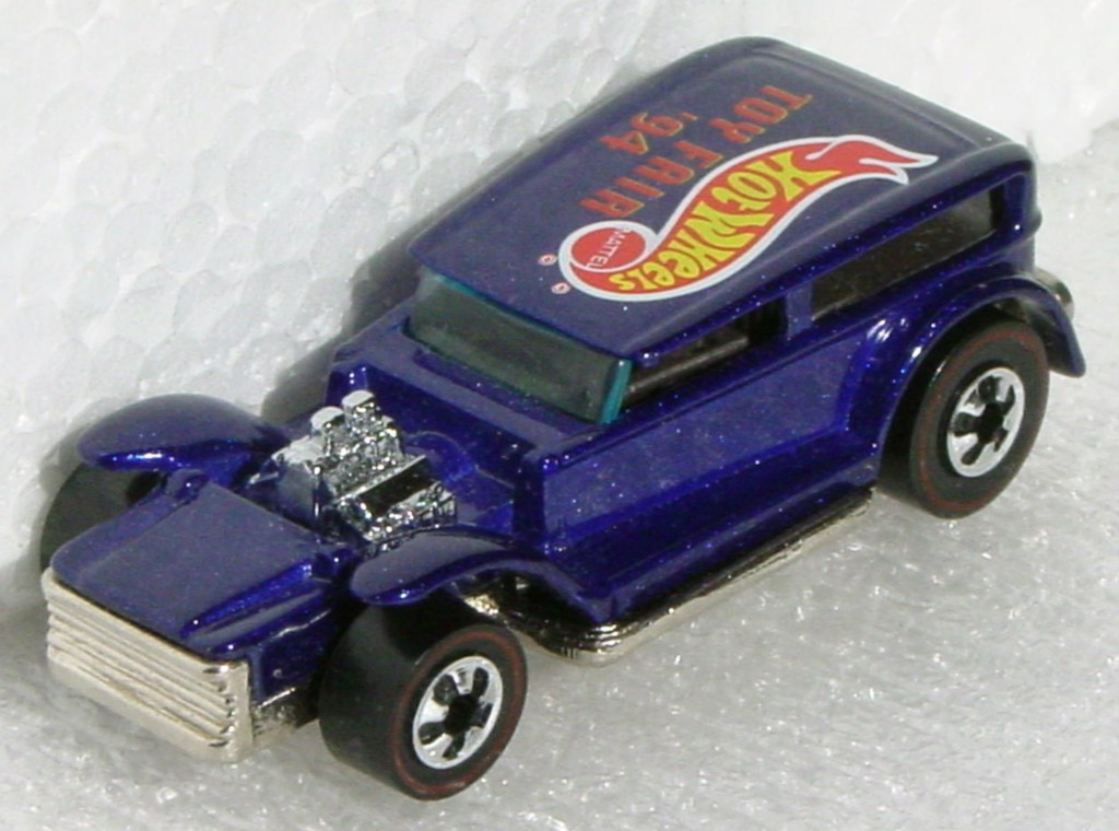 New Hot Wheels 5730 M - The Demon metalflake dark Blue 94 NY Toy Fair