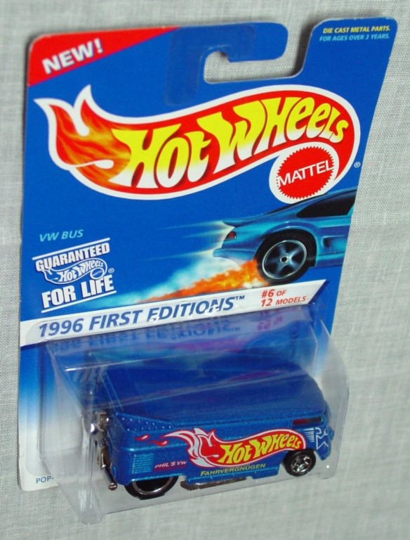 New Hot Wheels - VW BUS 1996 First Edition
