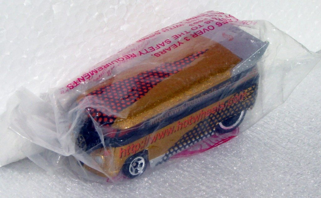 New Hot Wheels - VW BUS HOTWHEELS.COM Brnz web
