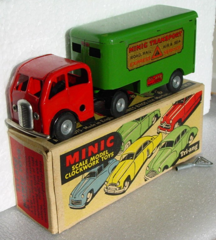Various - TRIANG MINIC 30M Mech Horse/Pantec Green and Red Very Near Mint C9+
