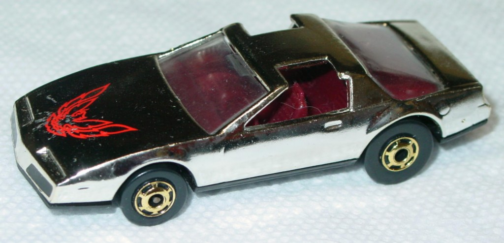 Blackwalls 3918 B - 80s Firebird Chrome Mattel promo