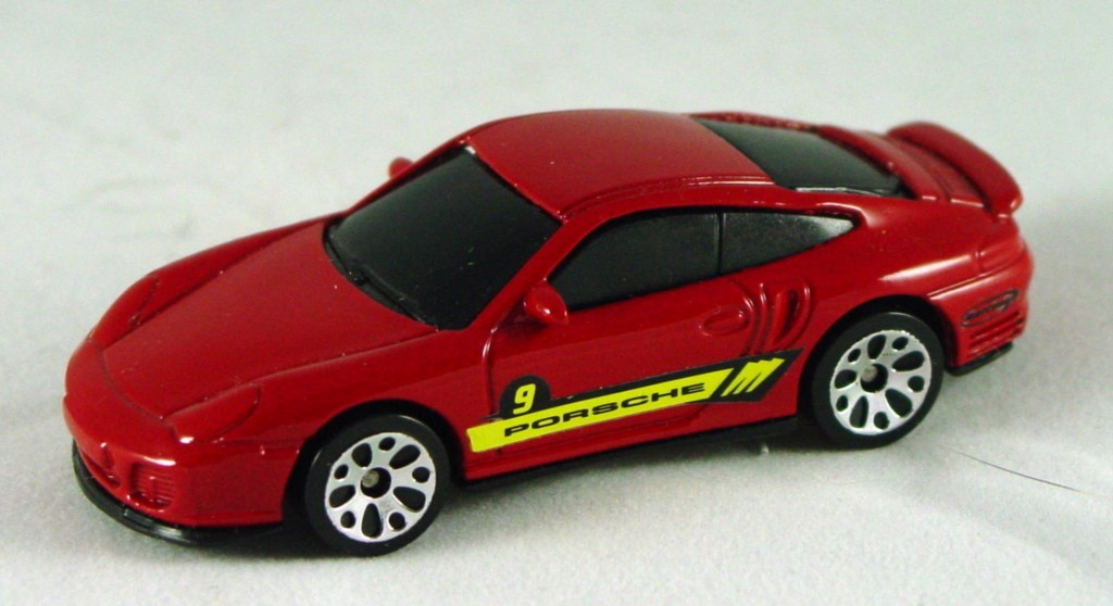 Pre-production - Porsche 911 Turbo Red made in China screw base DECALS