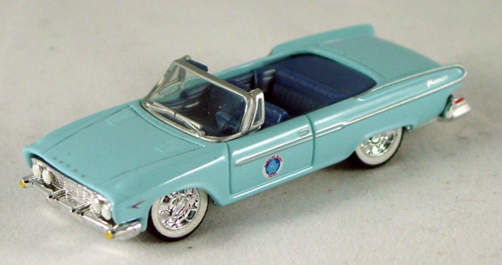 Pre-production - 1961 Dodge Dart Phoenix convertible light Blue