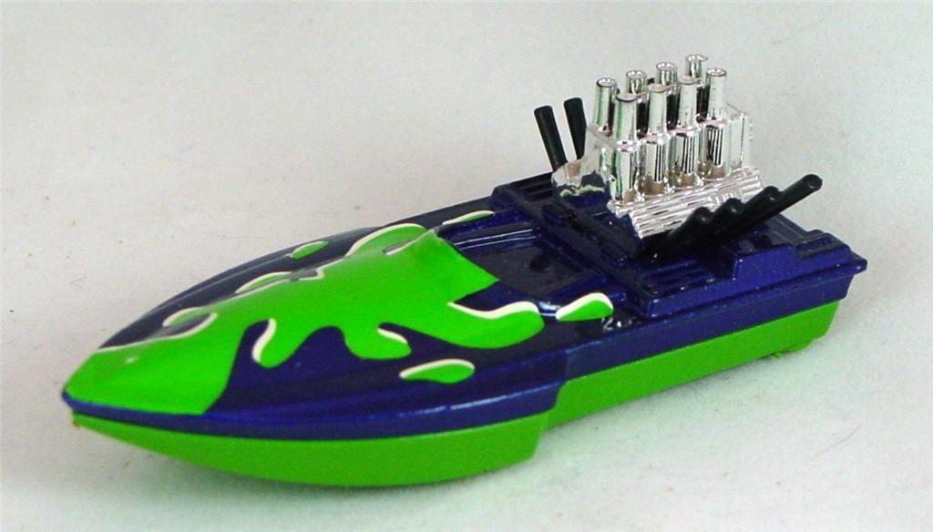 Pre-production 05 B 23 - Seafire dark Blue green and white tampo rivet glue no origin