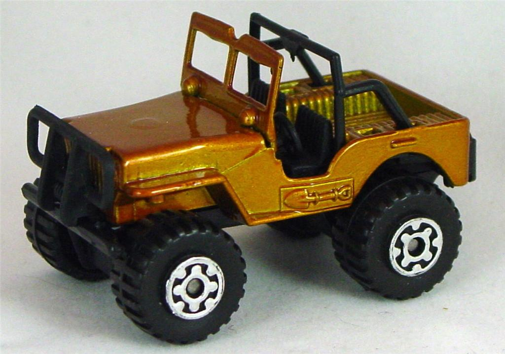 Pre-production 05 D 21 - Jeep 4x4 GOLD C Org-Gold made in Thailand Malt