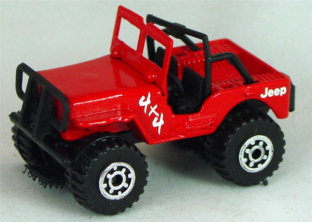 Pre-production 05 D 23 - Jeep 4x4 Red Malt 4x4 Jeep made in Thailand no top