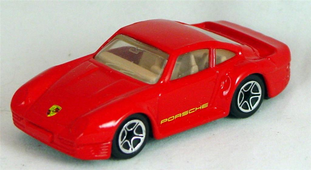 Pre-production 07 F 47 - Porsche 959 Red 5-spoke concave made in Thailand