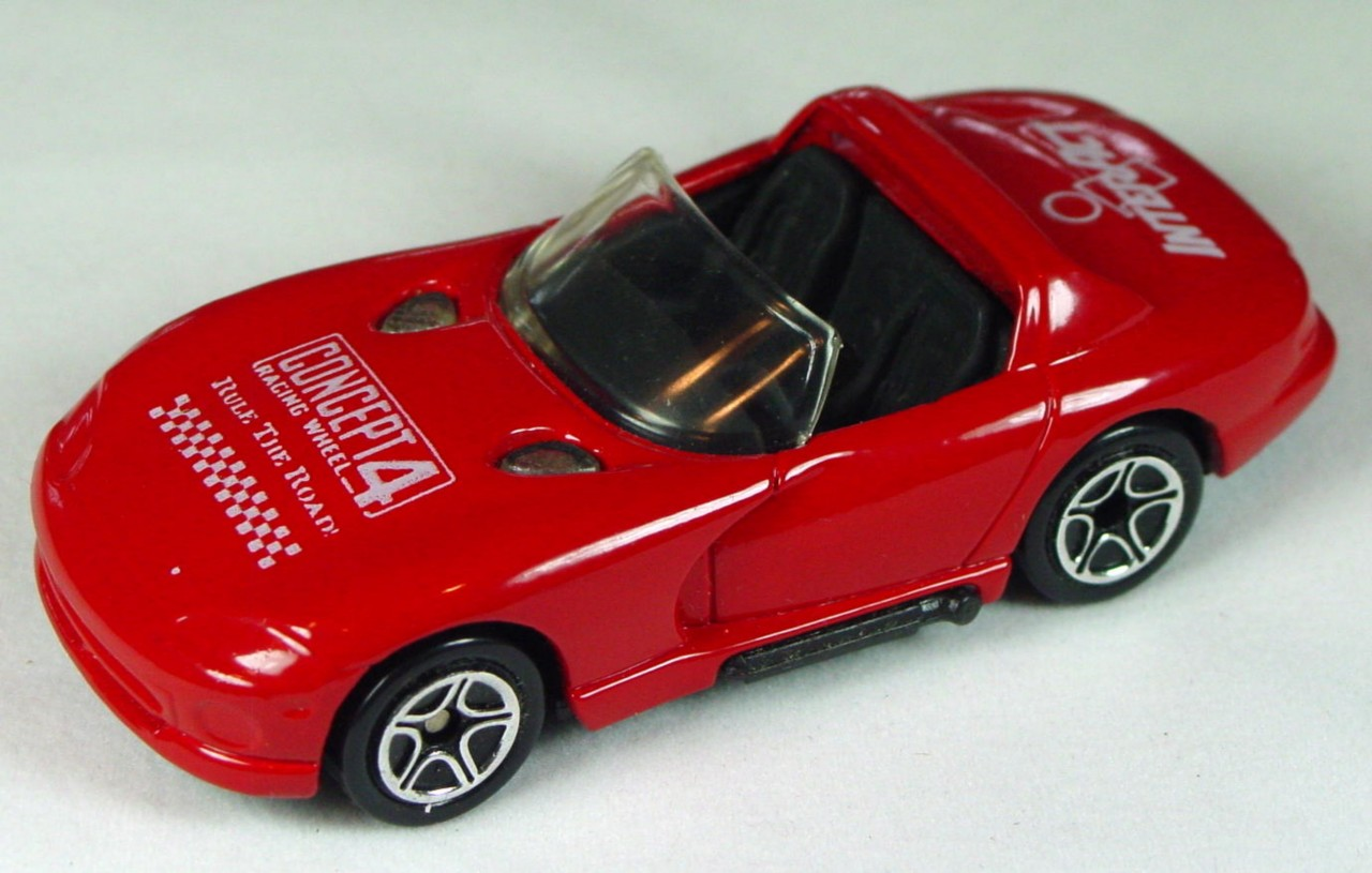 ASAP-CCI 10 F 37 - Dodge Viper Red Concept 4/Interact made in China ASAP