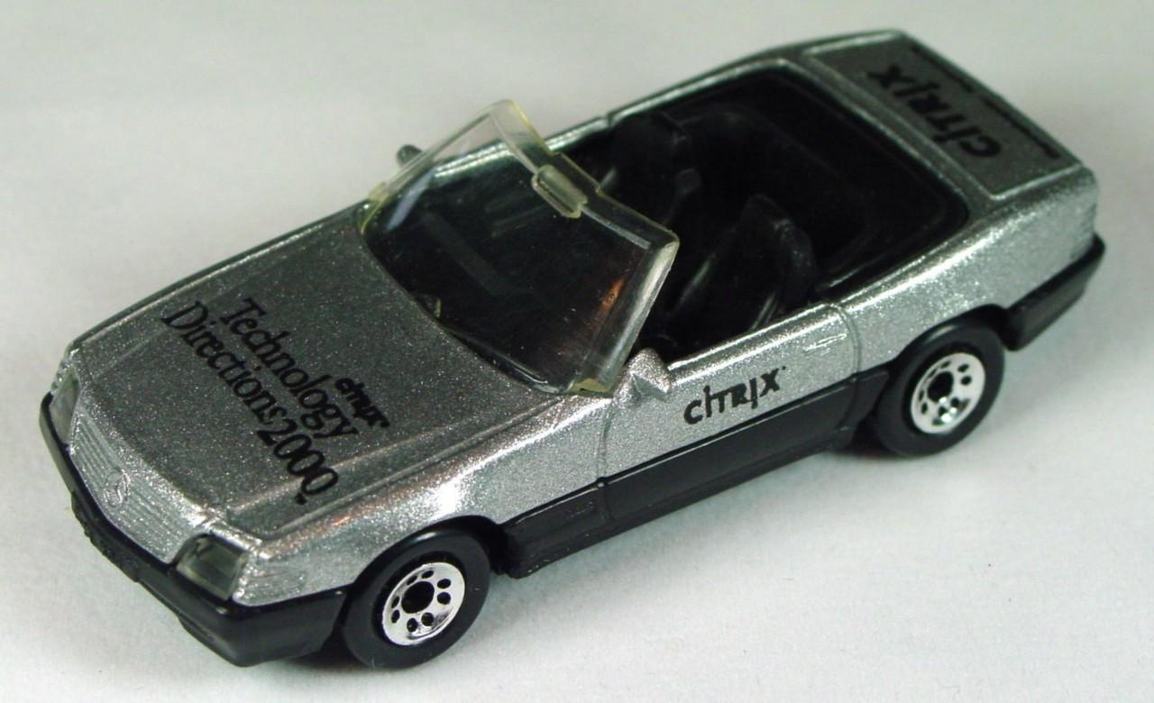 ASAP-CCI 12 H 18 - Mercedes 500SL convertible met Silver Citrix Tech 2000 ASAP