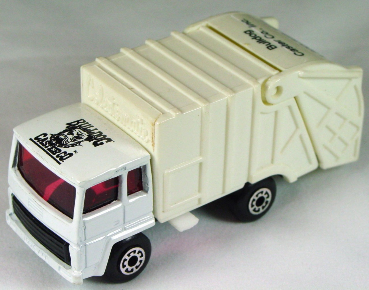 ASAP-CCI 36 D 29 - Refuse Truck White black base Bulldog Castor made in China ASAP