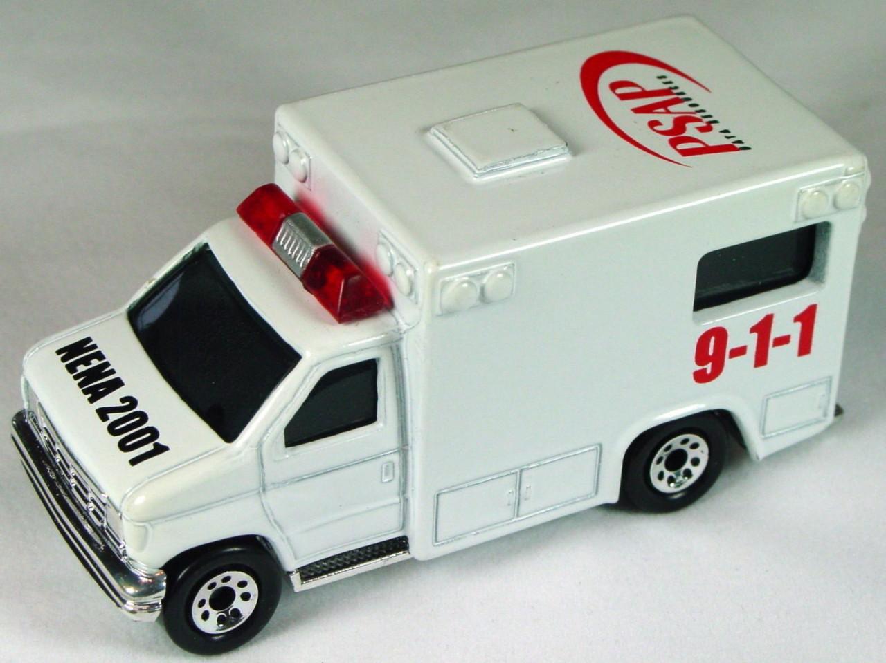 ASAP-CCI 51 K 40 - Ford Ambulance White 911 PSAP NENA 2001 ASAP