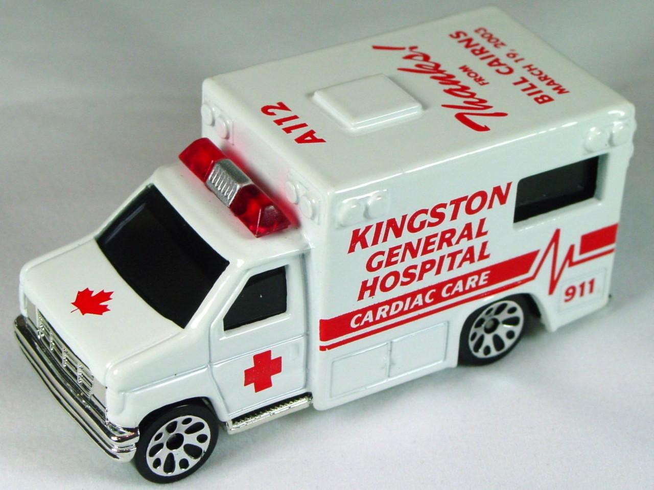 ASAP-CCI 51 K 46 - Ford Amb White Kingston Cardiac Hosp Bill Cairns CCI