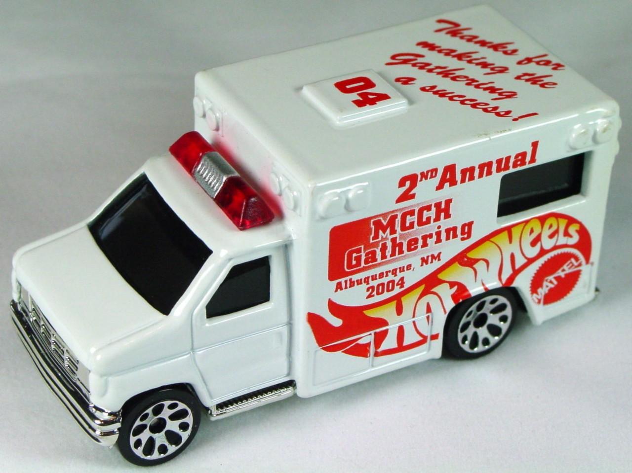 ASAP-CCI 51 K 70 - Ford Ambulance White 2nd Ann MCCH Gathering 2004 CCI