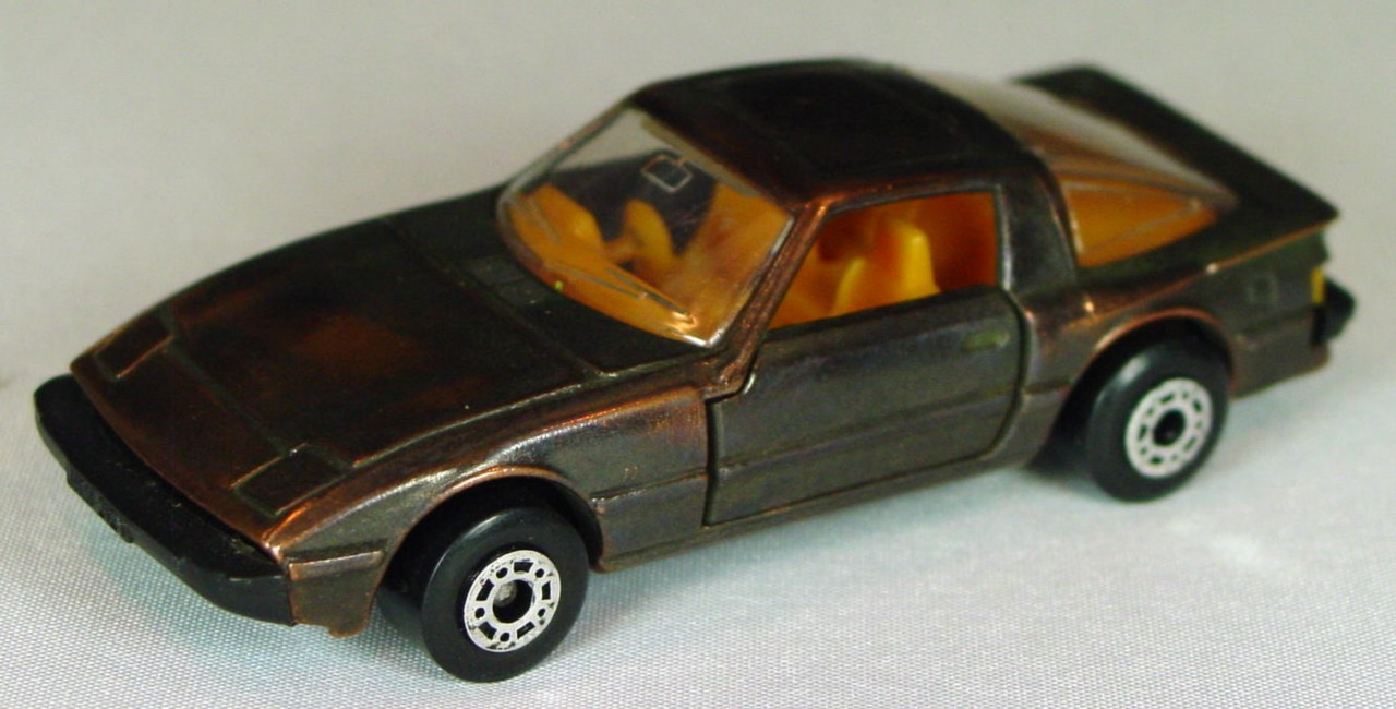 Bulgarian 31 E - Mazda RX7 Bronze orange interior