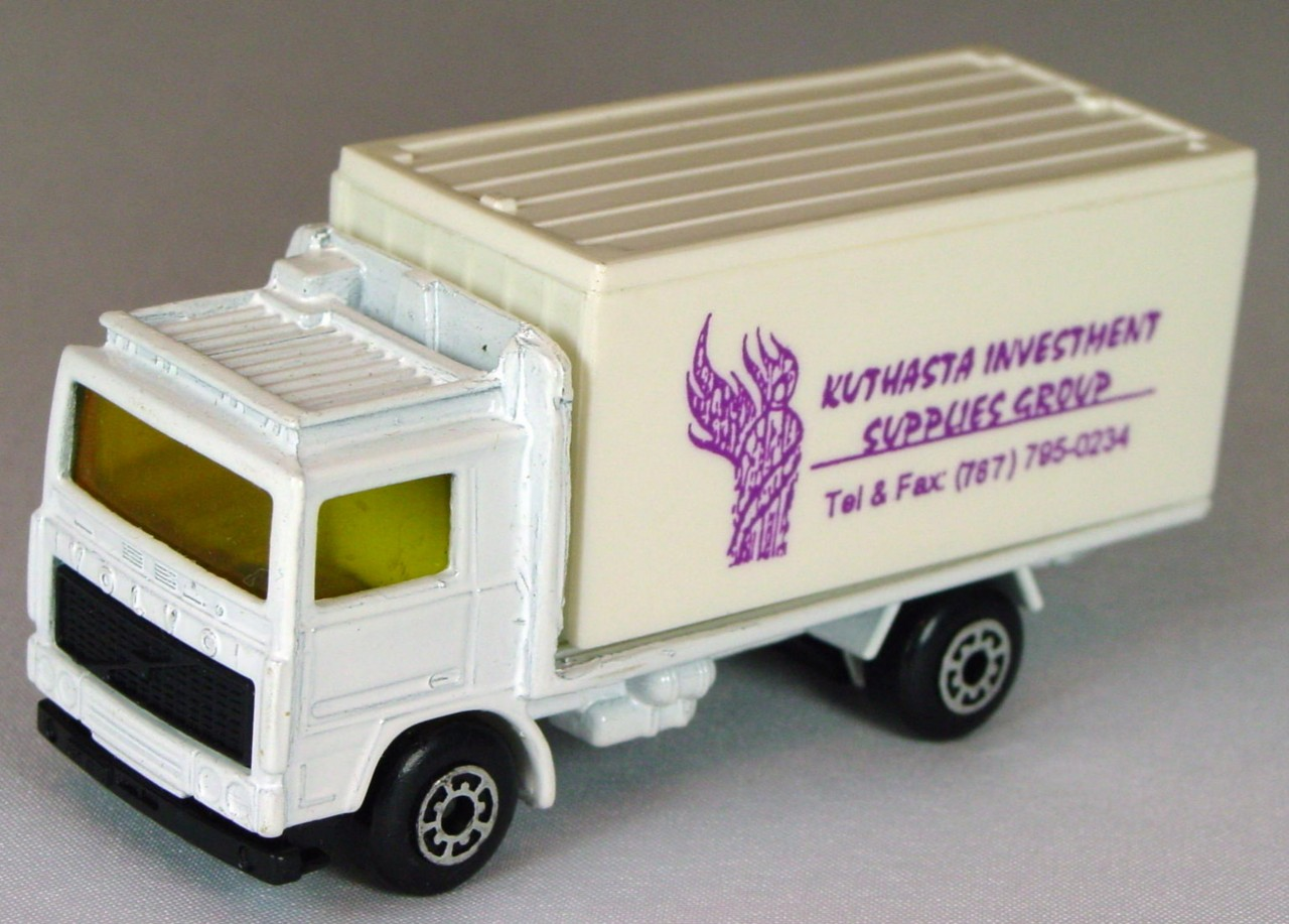 ASAP-CCI 20 D 62 - Volvo Cont Truck White and White Kuthasta Inv made in China ASAP