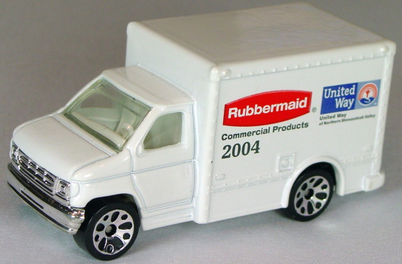 ASAP-CCI 23 H 30 - Ford Box Van White Rubbermaid United Way CCI