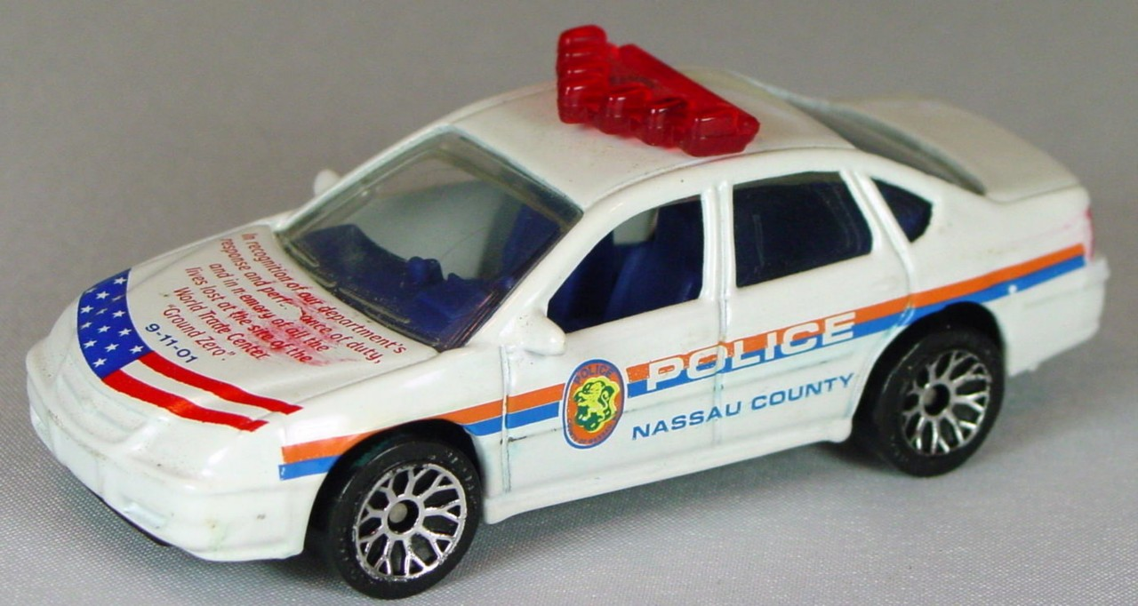 ASAP-CCI 34 J 15 - Chevy Impala Police White Nassau County Police CCI