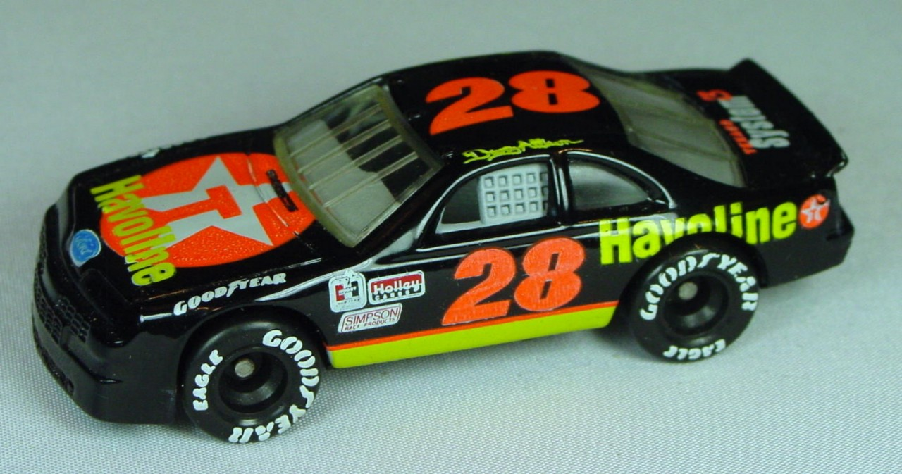 Pre-production 07 G 10 - Ford T-Bird Black Havoline/Texaco darker orange 28 made in China