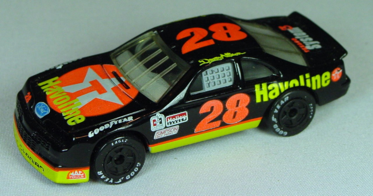 Pre-production 07 G 2 - Ford T-Bird Black Havoline/Texaco with Made in Macau 28 made in China