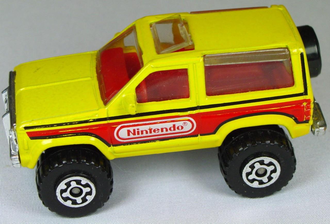 Pre-production 39 E - Ford Bronco II dark Yellow Nintendo ...