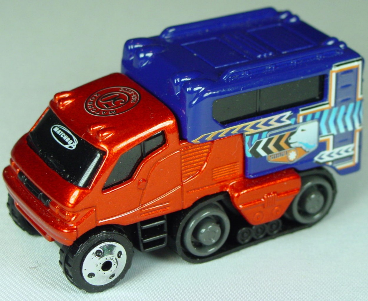Pre-production 06 I 5 - Arctic Track truck met Brnz MBX 50 rivet glue made in China