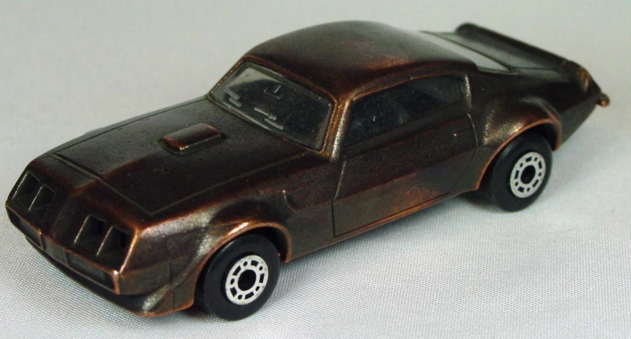 Bulgarian 16 B - Pontiac Bronze black interior