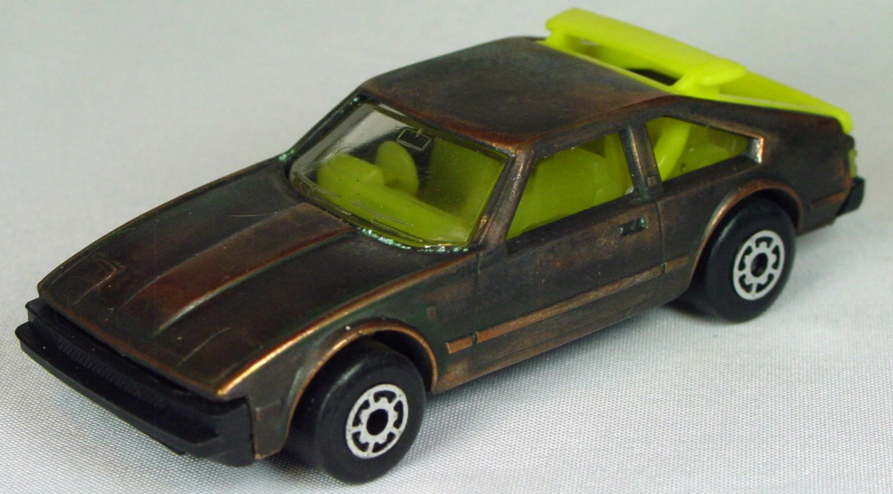 Bulgarian 39 C - Toyota Supra Bronze yellow interior black base yellow hatch