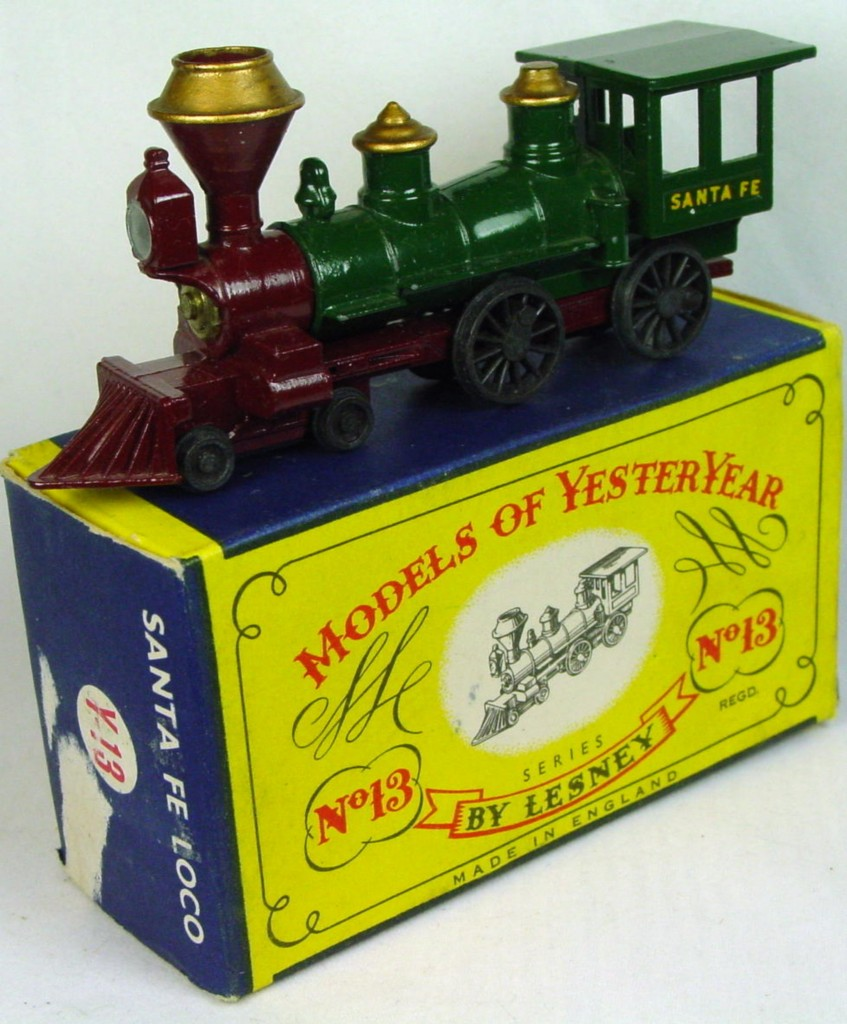 Models of YesterYears 13 A - Santa Fe (Very Near Mint) C8.5 A3 Box