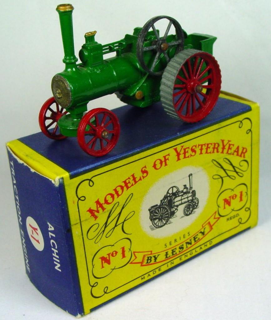 Models of YesterYears 01 A 4 - Allchin gold boil 2 chips C8 C box