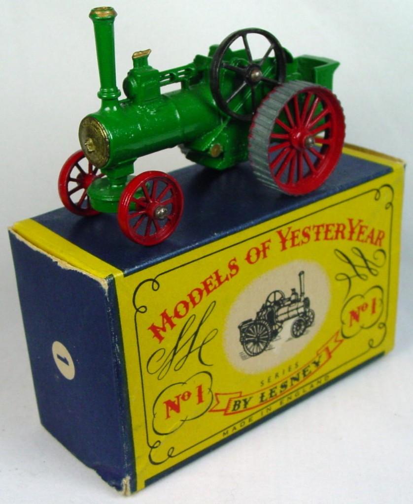 Models of YesterYears 01 A 4 - Allchin gold boil (Very Near Mint) C8.5 B box