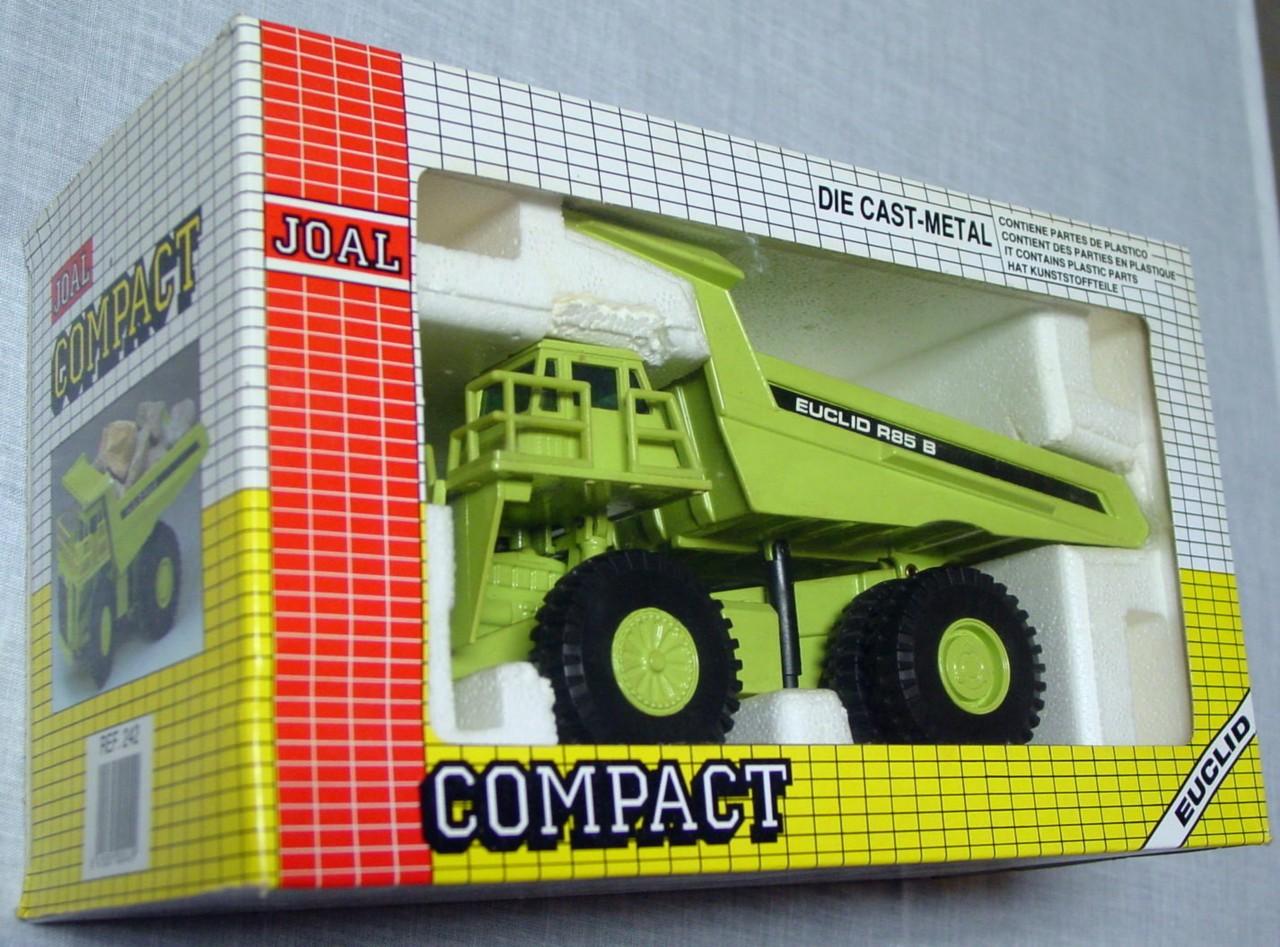 50 - JOAL 242 Euclid R85B Dumper Lime 1:50