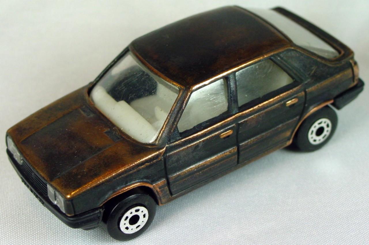 Bulgarian 33 E - Renault 11 Bronze white interior black base