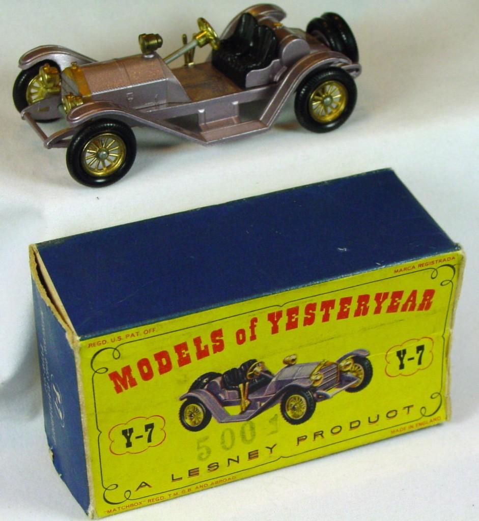 Models of YesterYears 07 B 2 - 1913 Mercer lilac FBW C9 B box -1 flap