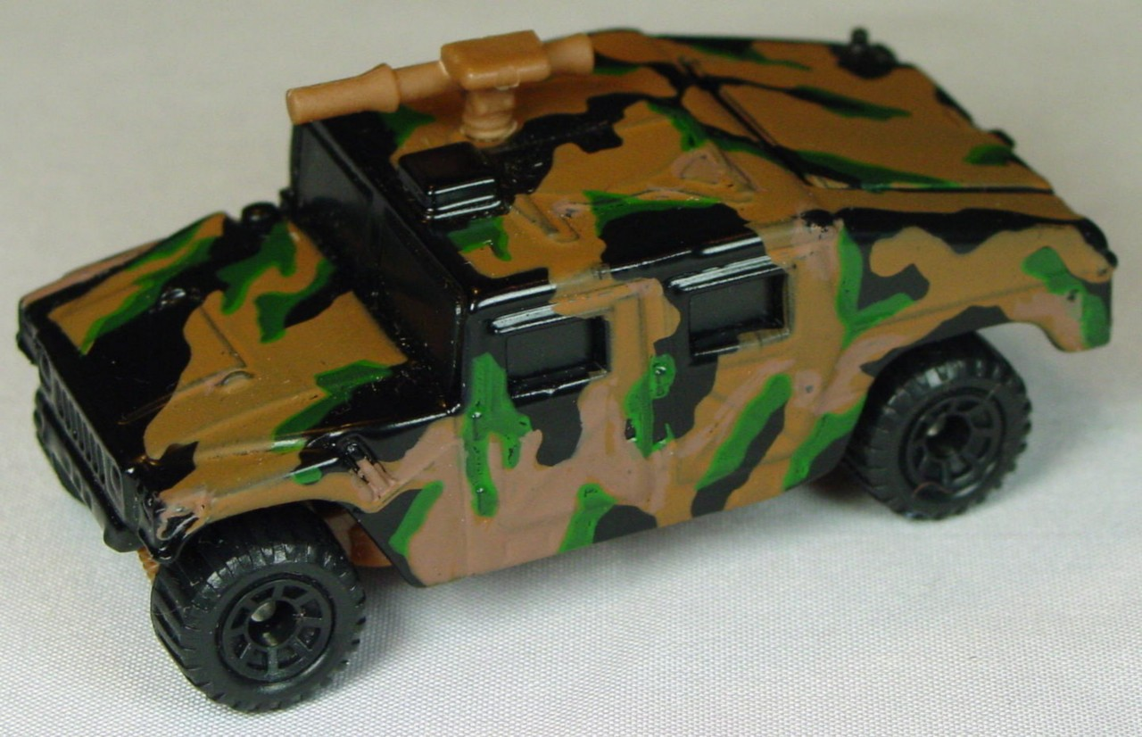 Pre-production 03 D 12 - Hummer Black brown gun green and brown DECS brown base made in Thailand