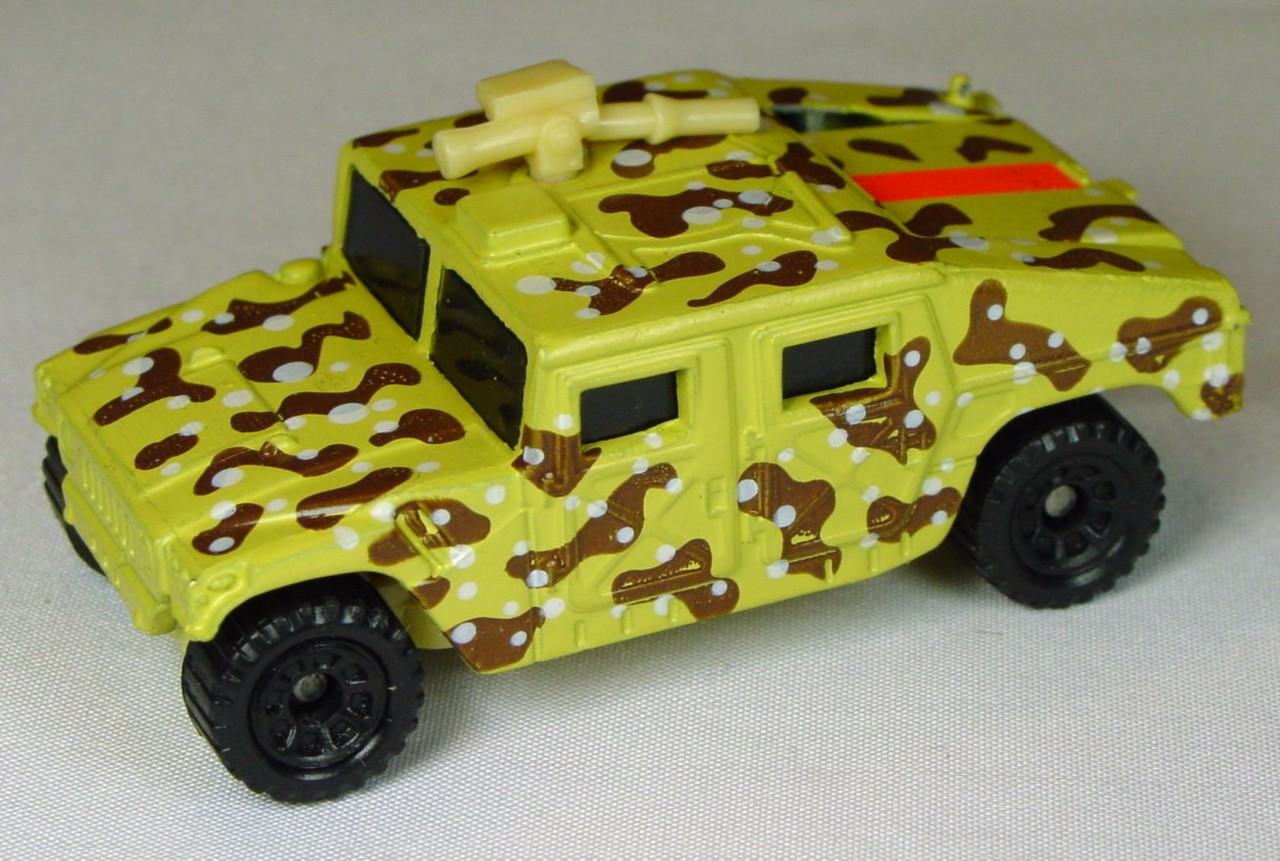 Pre-production 03 D 3 - Hummer dark Beige broken tan gun pink sticker made in China