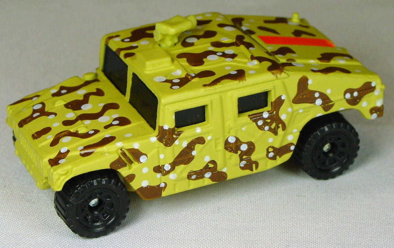 Pre-production 03 D 3 - Hummer dark Beige broken tan gun pink sticker made in Thailand