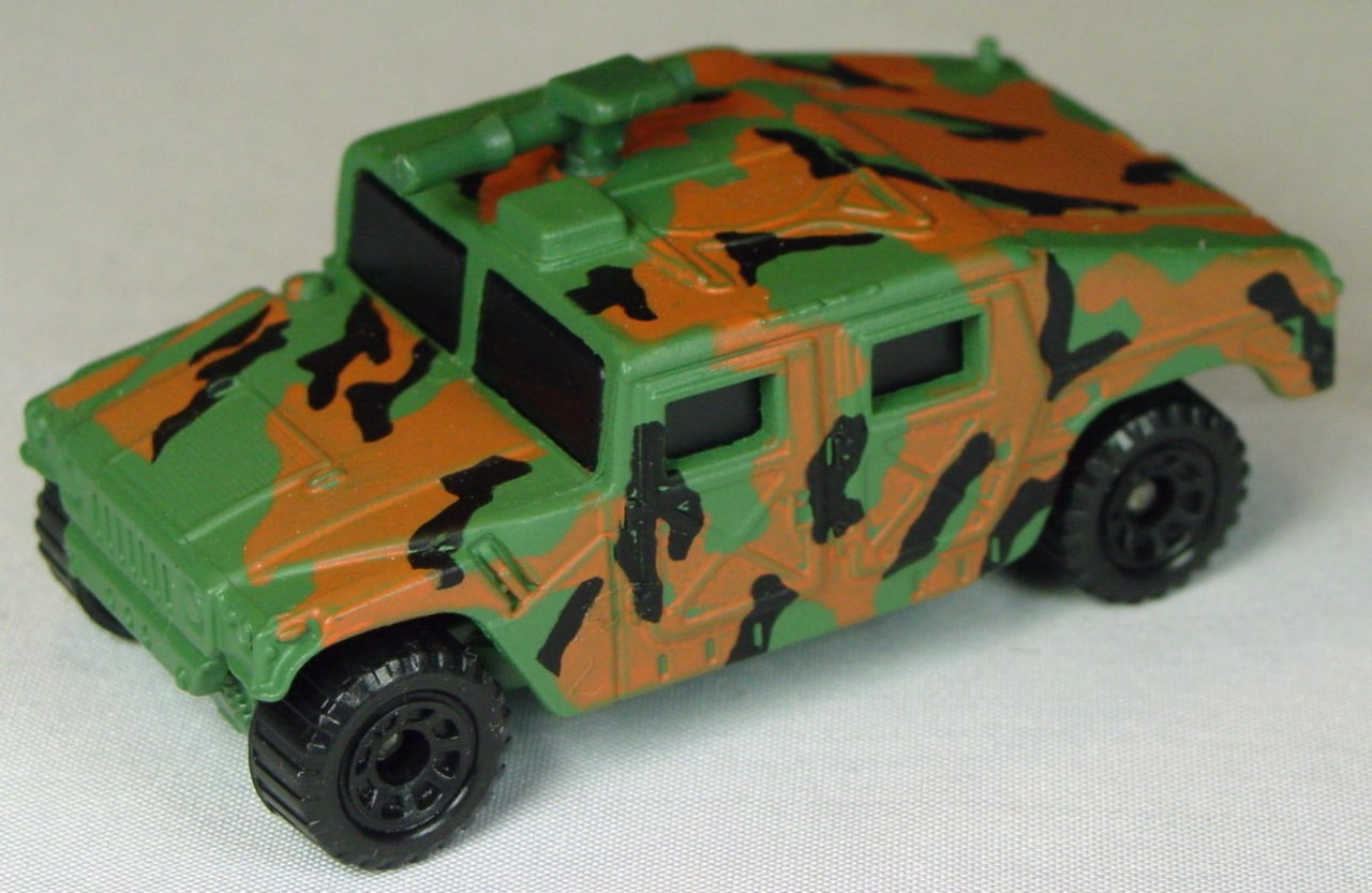 Pre-production 03 D 5 - Hummer Green GRN GUN brown and black camouflage made in Thailand