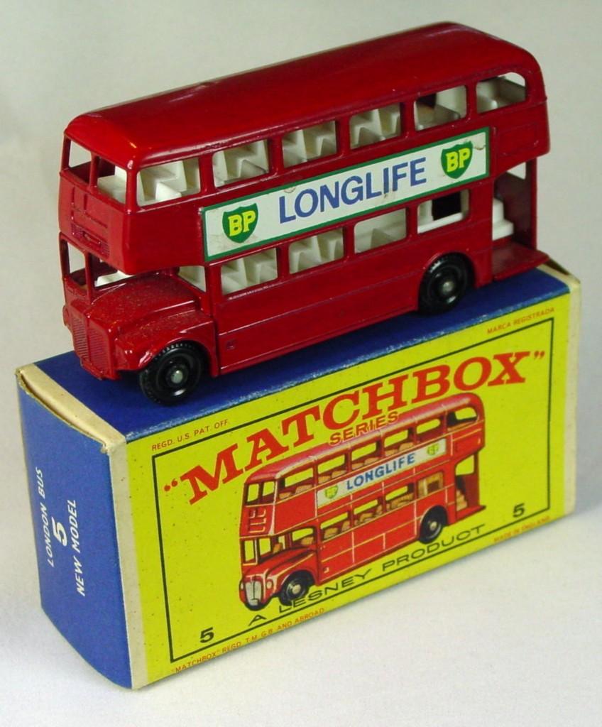 Regular Wheel 05 D 1 - Bus Longlife 5-line one slight chip C9+ E1 New Model box Stannard code 2