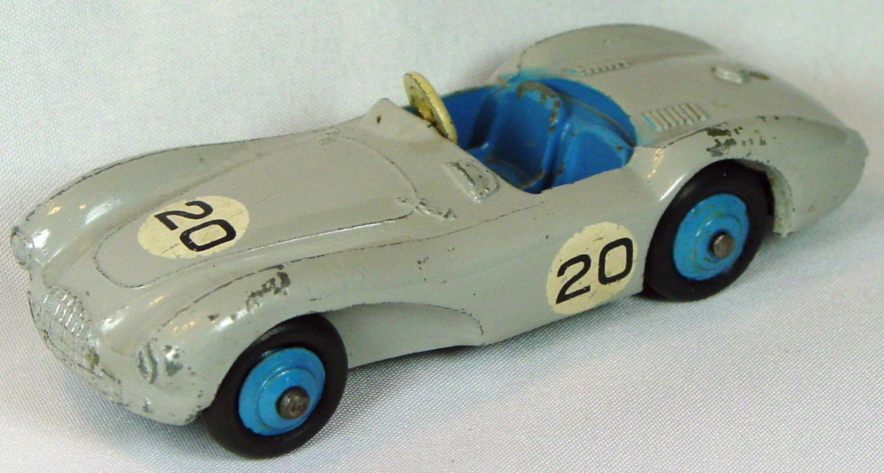 Dinky 110 - Aston Martin DB5 Grey blue interior 20 -driver