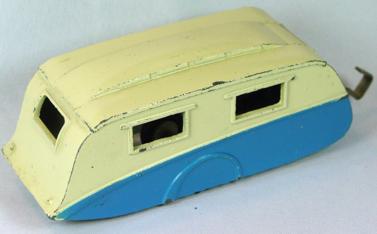 Dinky 190 - Caravan Cream and blue