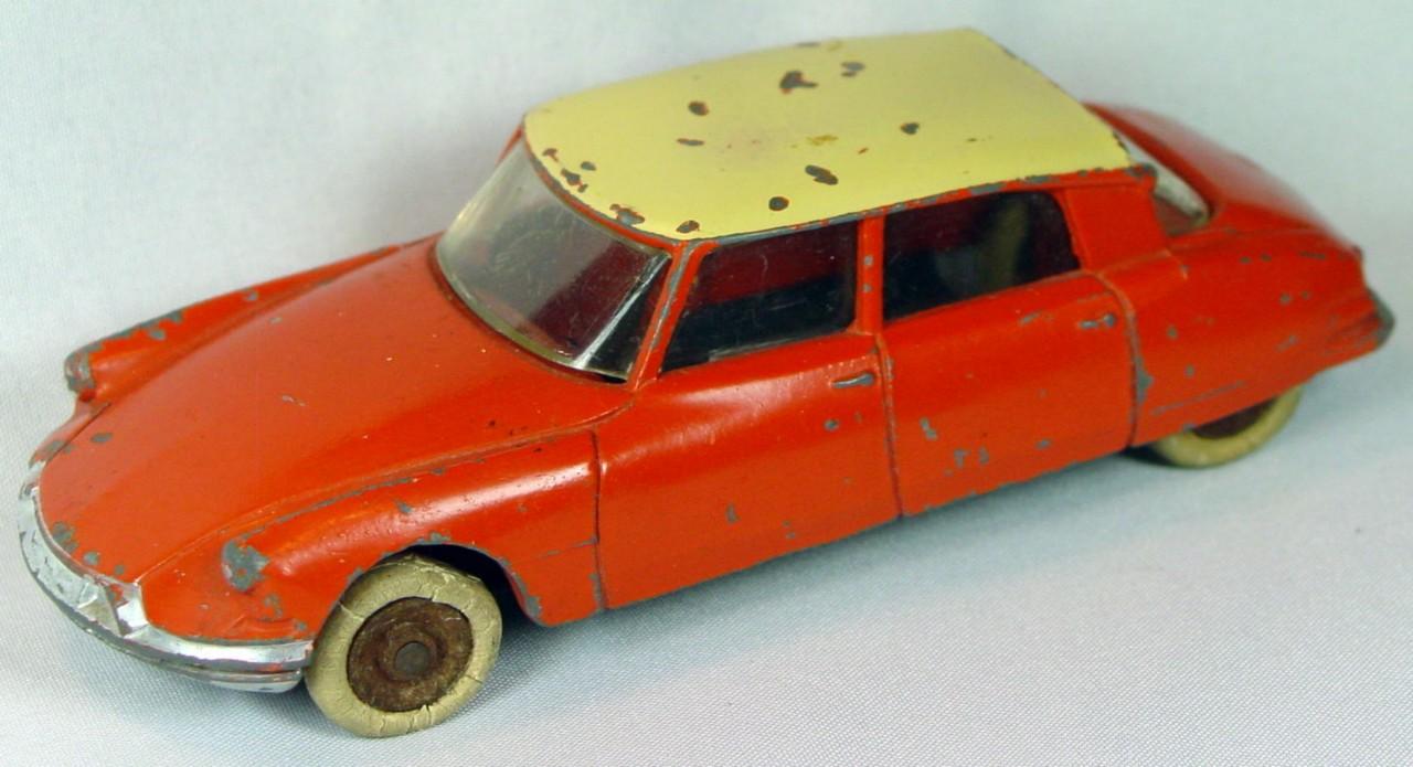 Dinky 24 C - Citroen Orange cream roof